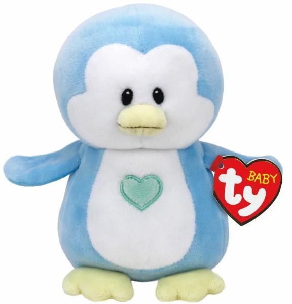 TY baby Ty Pinguin Twinkles hellblau ca 17cm Plüsch Kuscheltier