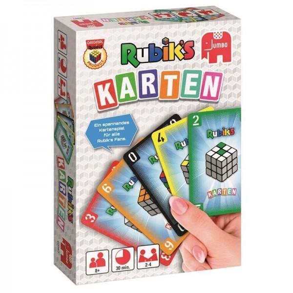 Jumbo 03987 Rubik's Karten Kartenspiel für 2-4 Spieler ab 8 Jahren