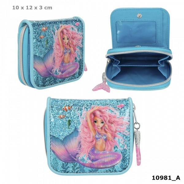 Depesche 10981 Fantasy Model Portemonnaie Geldbörse Meerjungfrau Mermaid