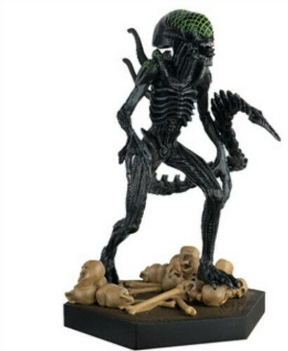 The Alien & Predator Figurenkollektion 'Grid' Xenomorph Figur 14cm