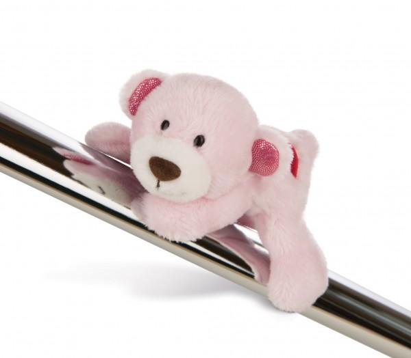 Nici 44422 MagNICI Love Bär Schwester mit Herz rosa ca 12cm Plüsch Magnetfigur