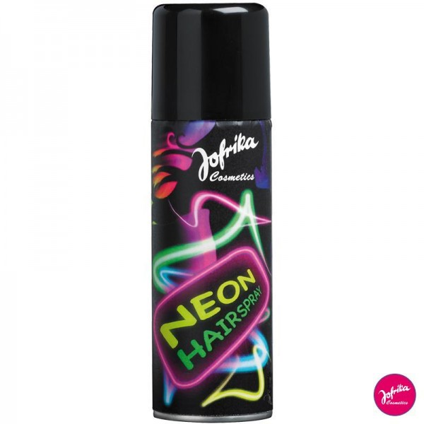 Jofrika Cosmetics Neon Haarspray Hairspray 125ml in 4 Farben
