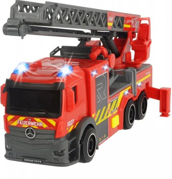 Rosenbauer Feuerwehr Drehleiter 60cm hoch SOS-Serie mit Licht und Sound