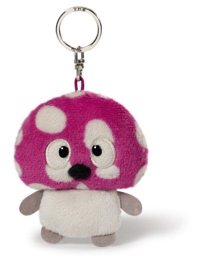 Nici 38278 Schlüsselanhänger Bean Bag Pilz Murphy 2D ca 8,5cm Plüsch