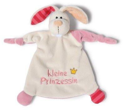 Nici 40042 Schmusetuch Hase Plüsch 25x25cm kleine Prinzessin