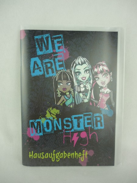 Hausaufgabenheft We are Monster High A5 Undercover