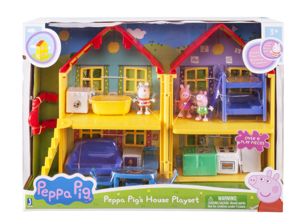 Peppa Pig Peppa's Familienhaus Spielset Jazwares 92620