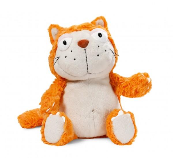 Nici 39023 Crazy Cats orange Katze Hungry ca 15cm Plüsch Kuscheltier