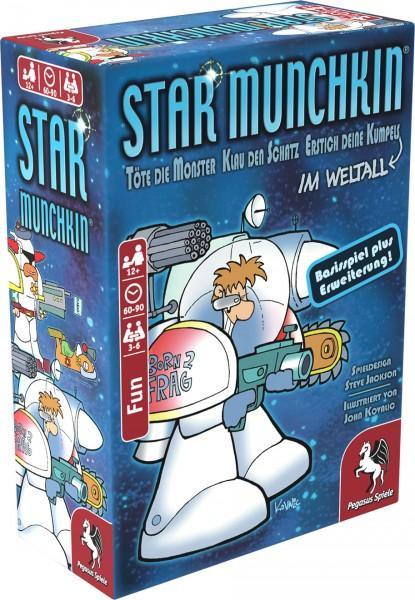 Star Munchkin 1+2 Basisspiel plus Erweiterung Pegasus Spiele 17158G