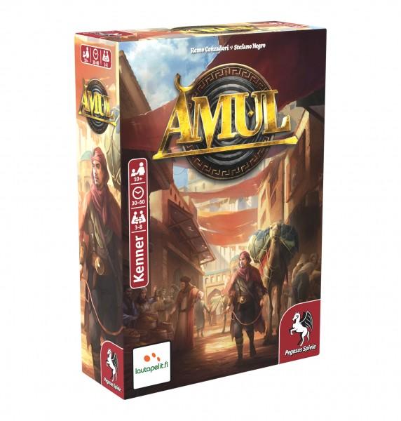 Amul Brettspiel Altertum für 3-8 Spieler ab 10+ Pegasus Spiele 57402G