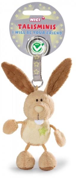 Nici 36685 Schlüsselanhänger Hase 7cm Talisminis Plüsch