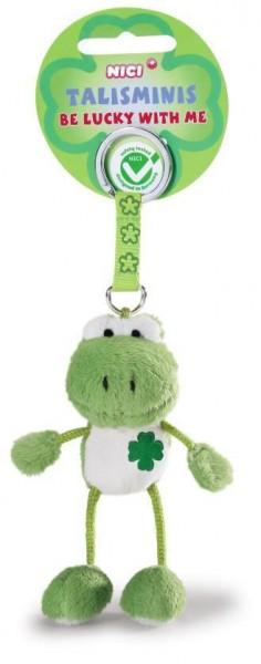 Nici 36682 Talisminis Schlüsselanhänger Keychain Frosch Frog 7cm Bean Bag