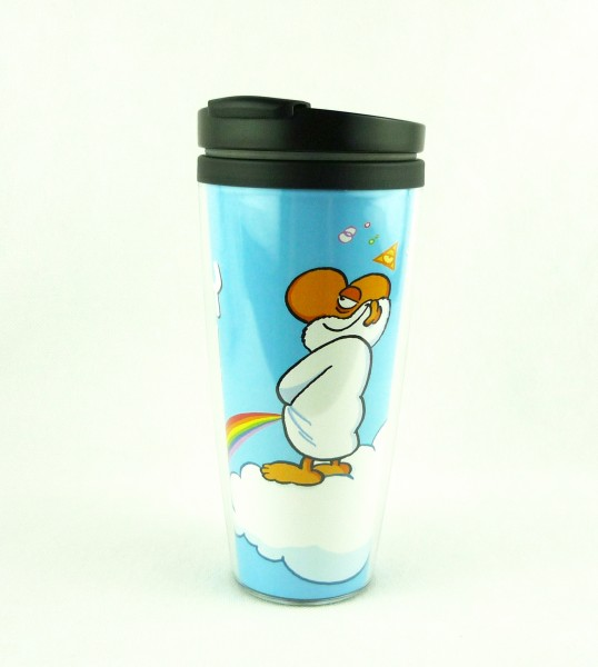 "Ralph Ruthe Mug To Go ""Oh, Happy Day"" Coffe-To-Go Becher 0124935"