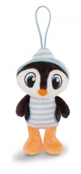 Nici 43972 Schlafmützen Pinguin Koosy ca 14cm mit Loop Schlaufe Plüsch