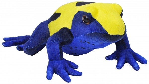Wild Republic 24328 Citronella Pfeilfrosch Gelb/Blau ca 29cm Plüsch