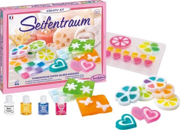 Kreativ-Kit Seifentraum farbenfrohe Seifen selber kreieren DIY 8+ Jahre