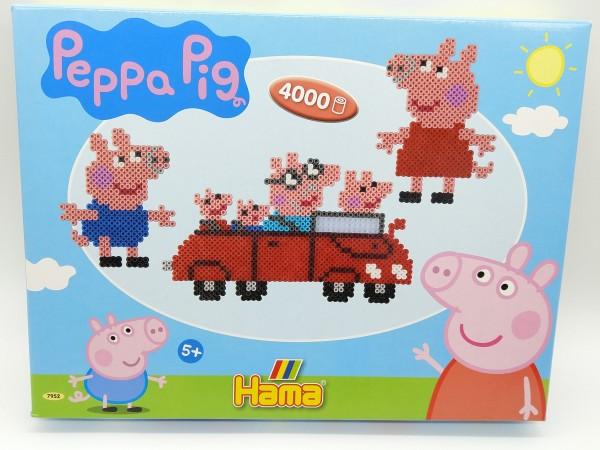 HAMA Bügelperlen Peppa Pig Wutz Geschenkpackung mit 4000 Perlen