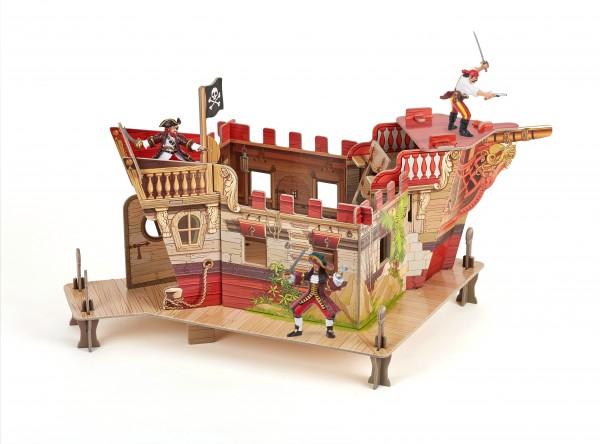 Papo 80403 Piratenfestung Le Fort Pirate Spielset mit 3 Figuren