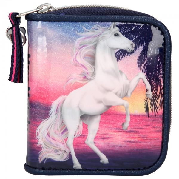 Depesche 10585 Pferd Miss Melody Portemonnaie Geldbörse Glitter Ocean