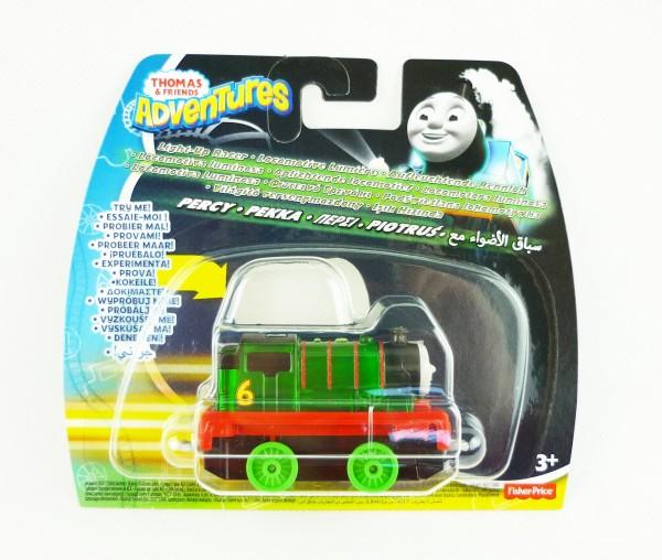 Thomas & Friends Adventures Eisenbahn Rennlok + Licht Percy DXV24