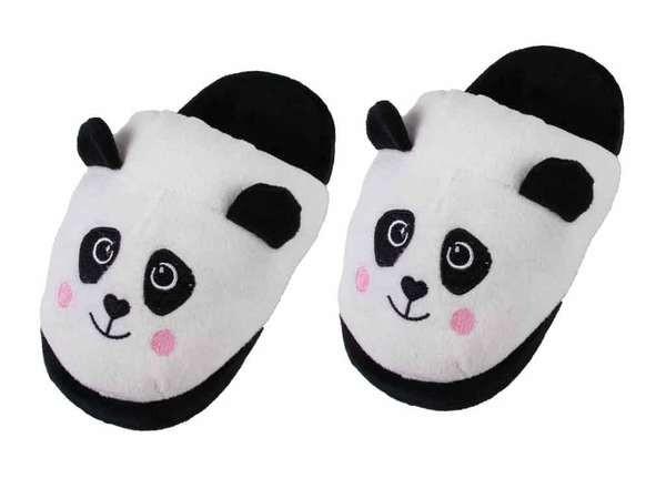 bb Klostermann 21033 Panda Fun Pantoffeln Hausschuhe Größe 36-37