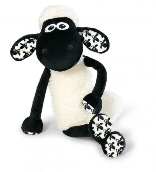 Nici 40134 Shaun das Schaf mit allover ca 25cm Plüsch Schlenker