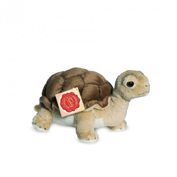 Teddy Hermann 90114 Schildkröte stehend ca. 20cm Plüsch Kuscheltier