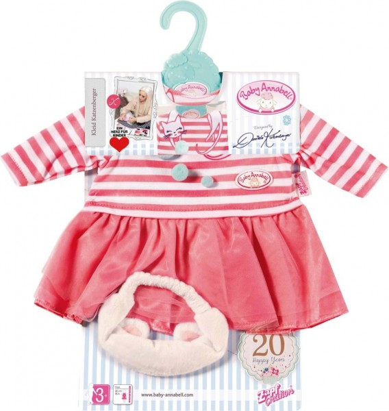 Zapf Baby Annabell My Special Day Outfit Kleid Daniela Katzenberger