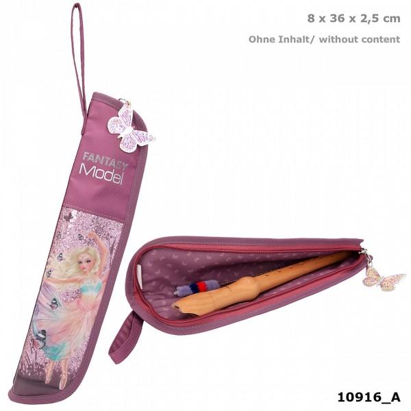 Depesche 10916 Fantasy Model Flötentasche Ballett Ballerina lila