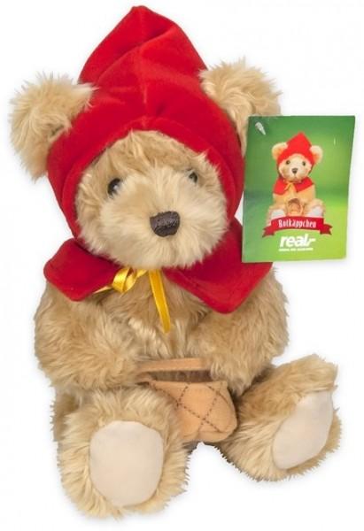Fairytalebears Märchen-Bär mit Mütze ca 21cm Plüsch - Rotkäppchen