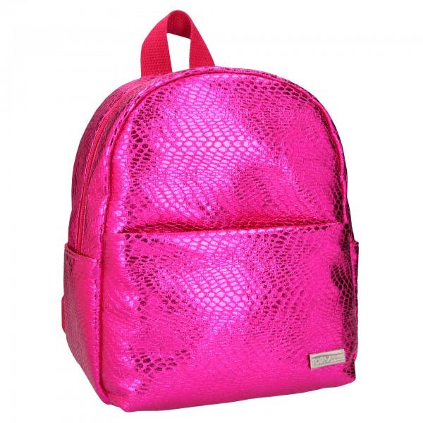 Depesche 10824 TOPModel kleiner Rucksack mit Schlangenprägung pink