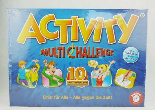Activity Multi Challenge Einer für Alle - Alle gegen die Zeit! 3-8 Spieler