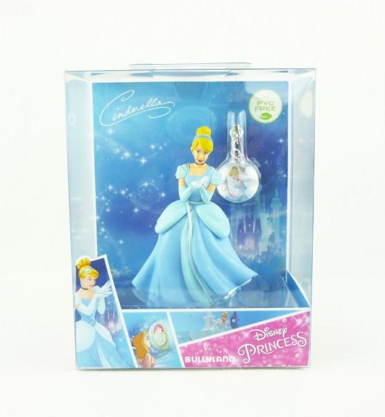 Disney Princess Cinderella ca 10cm & Schmuckanhänger Bullyland 13419