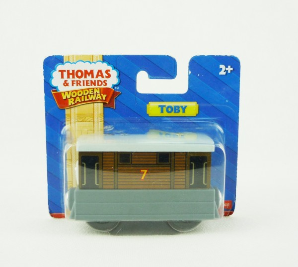 Thomas & Friends Wooden Railway Toby Fisher Price Y4081 Holzeisenbahn