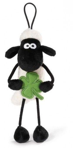 Nici 40665 Shaun das Schaf mit Kleeblatt und Loop 15cm Plüsch