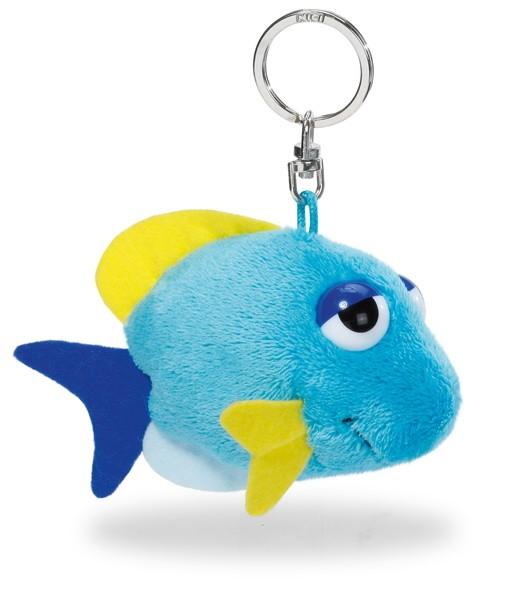 Nici 37191 Schlüsselanhänger blauer Fisch 10cm Plüsch BeanBag