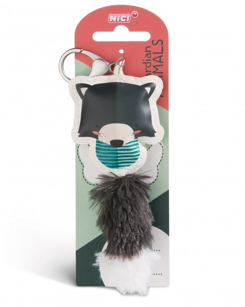 Nici 45585 Guardian Animals Marder 12cm Taschenanhänger Kunstleder
