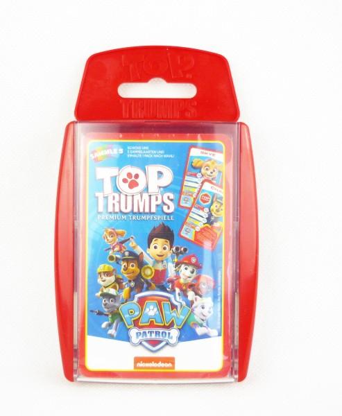 Top Trumps: Paw Patrol Premium Trumpfspiele Kartenspiel Sammle 5