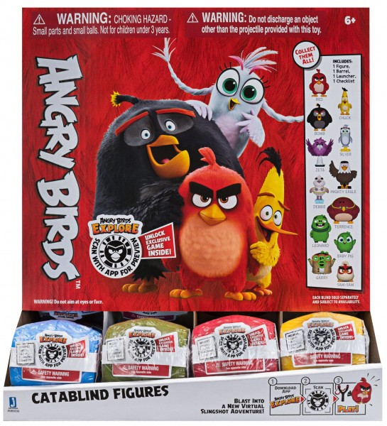 Angry Birds Catablind Figuren Überraschungs-Sammelfigur ANB0036