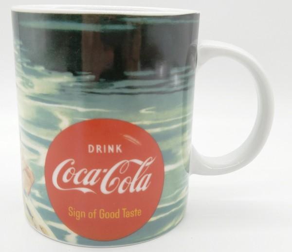 Coca Cola Tasse Mug Kaffeepott - Sign of good taste