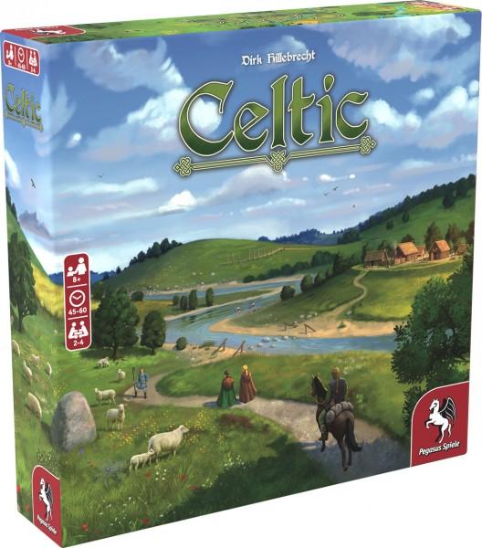 Celtic Brettspiel Familienspiel 2-4 Spieler (deutsch/englisch) Pegasus 51978G