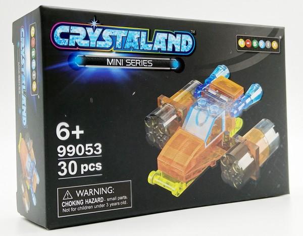 N-Brix Crystaland Mini Series Bausteine - 99053 Düsenflieger (30 Teile)