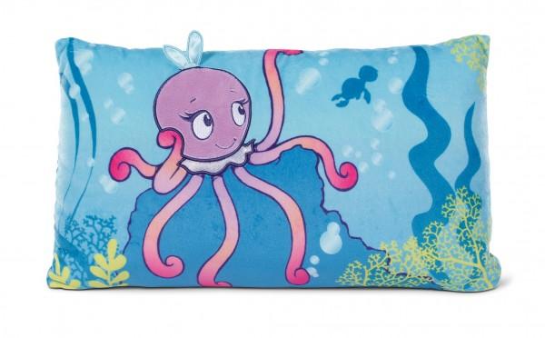 Nici 45360 Kissen Oktopus Oktina-Oktopus rechteckig Plüsch Under the Sea