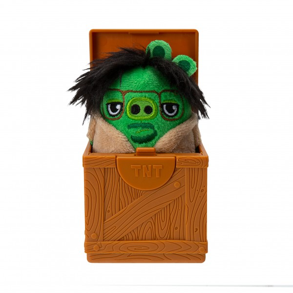 Angry Birds Blindpack TNT Box + Plüsch Hatchling Kistensortiment Jazwares ANB0022