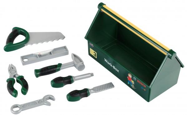 Bosch Mini Werkzeug Box mit 7-teiligem Werkzeug für kleine Hobbyhandwerker 8573