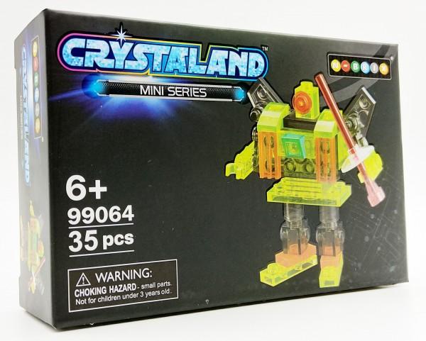 N-Brix Crystaland Mini Series Bausteine - 99064 Roboter (35 Teile)
