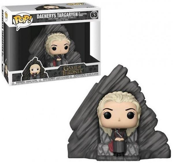 POP! 63 Game of Thrones Daenerys Targaryen on Dragonstone Throne Drachenstein