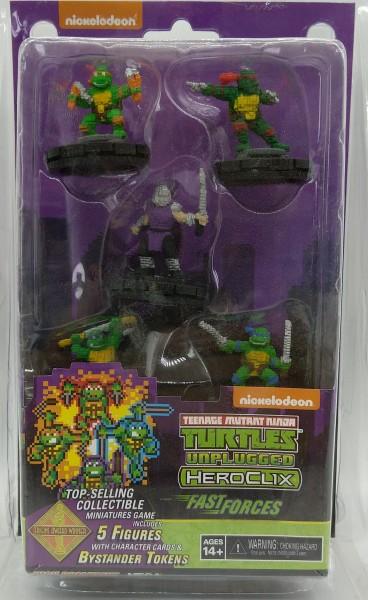 Teenage Mutant Ninja Turtles HeroClix - Fast Forces - mit 5 Figuren