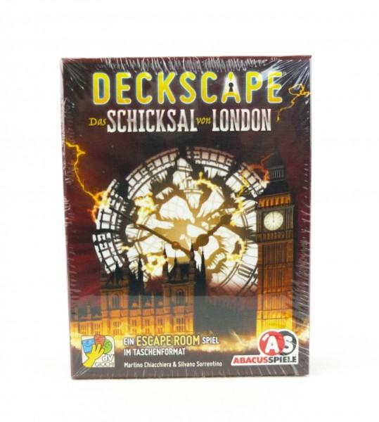 Deckscape - Escape Room im Taschenformat - Das Schicksal von London
