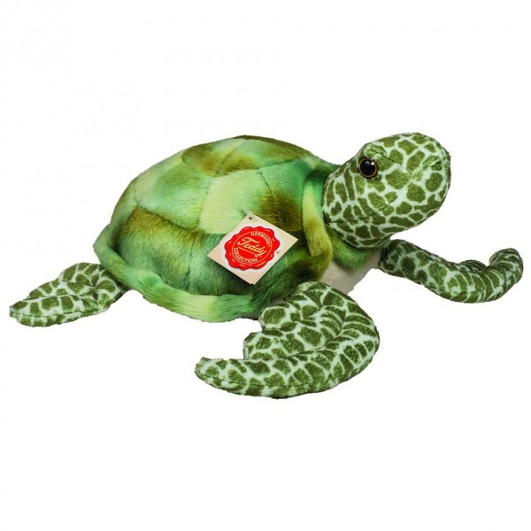 Teddy Hermann 90113 Wasserschildkröte Plüsch Kuscheltier ca 22cm